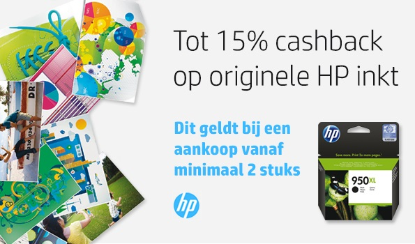 HP cartridges extra goedkoop